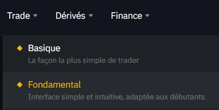 Binance Trade Fondamental