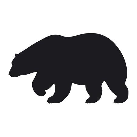 bear walking, describing a downtrend crypto market